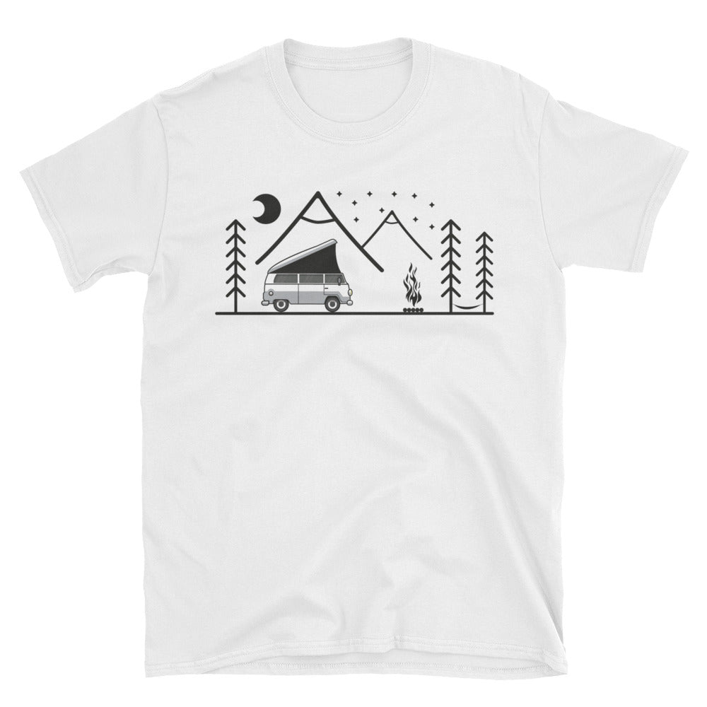 Van Life Mountain Unisex T-Shirt
