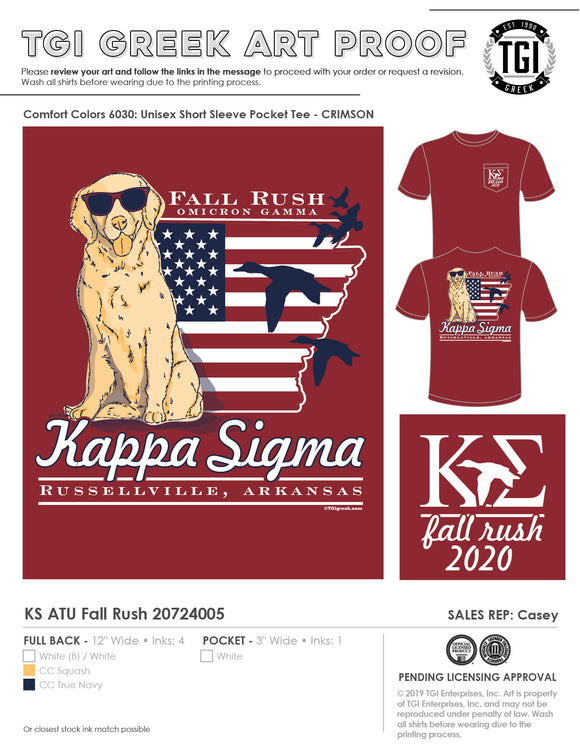 Kappa Sigma Arkansas Tech Univ Fall Rush 20-7-24005