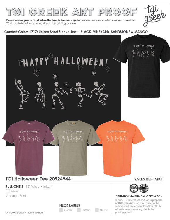 Happy Halloween 20-10-25115 - FREE SHIPPING!!