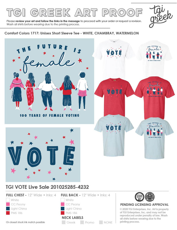 VOTE Live Sale - FREE SHIPPING!!