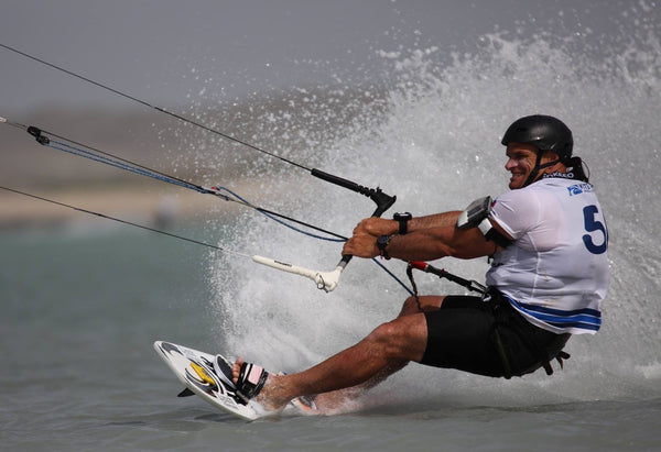 Rob Douglas becomes KiteSpeed World Champion