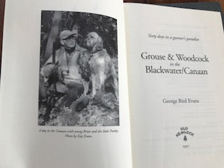 Grouse & Woodcock in the Blackwater/ Canaan by George Bird Evans