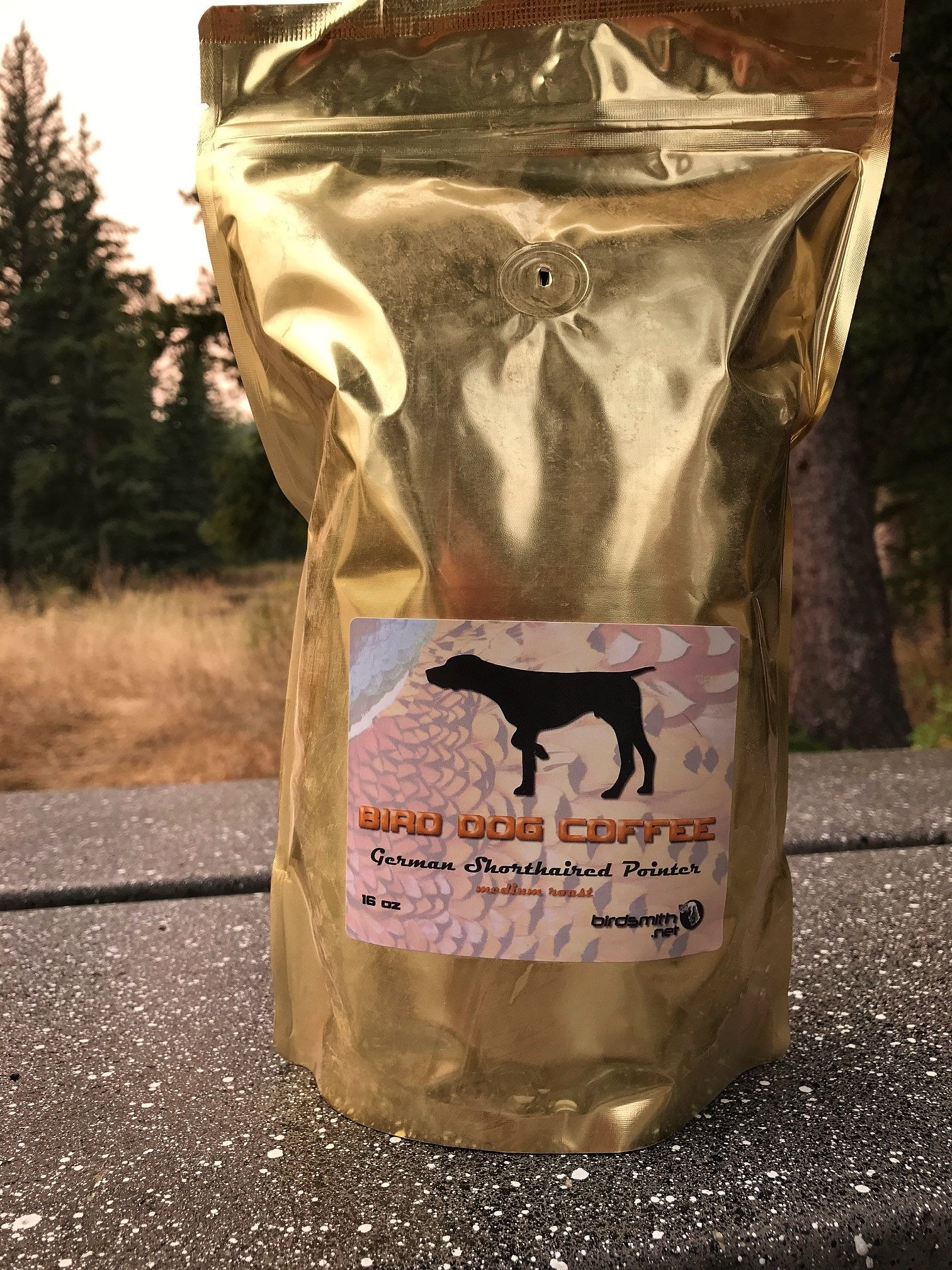 BIRD DOG COFFEE - German Shorthaired Pointer Whole Bean