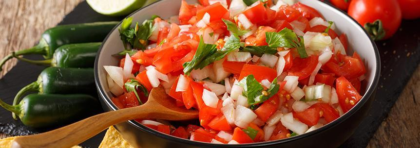 Homegrown Pico de Gallo – From your garden, to your table!