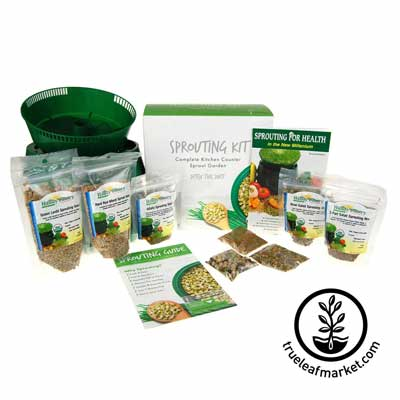 The Spartan Up! Ultra: Tray Seed Sprouter Kit