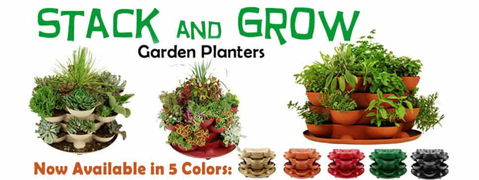 Stack and Grow Garden Planters