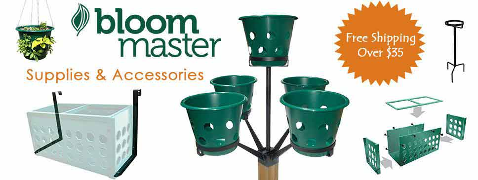 Bloom Master hanging Baskets and Planters