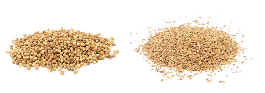Whole Coriander vs. Split Coriander