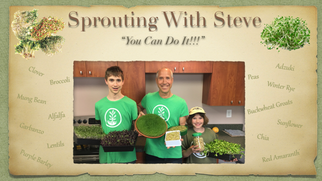 sprouting with steve