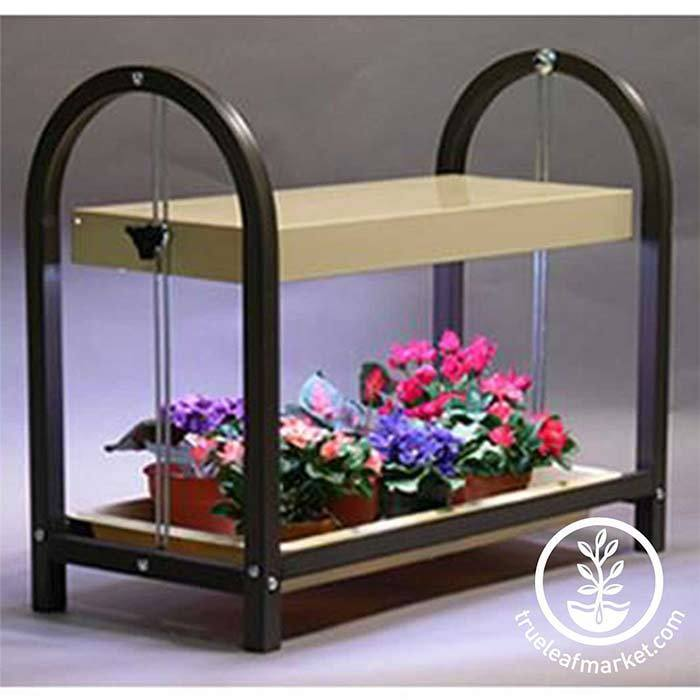 One Tray Growing Stand Brown