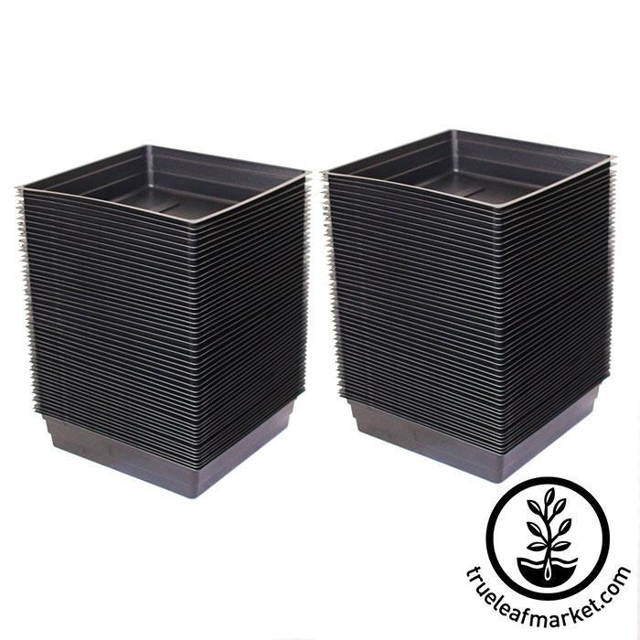 Small Growing Drip Trays 10 Quot X10 Quot X2 Quot No Holes Garden
