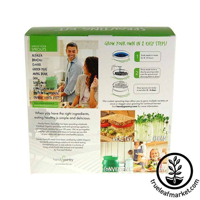 Sprout Garden - 3 Tray Stackable Seed Sprouter Packaging