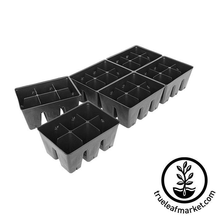 Tray Insert - 36 Cell - 6x6 Nested Break apart for Seed Starting