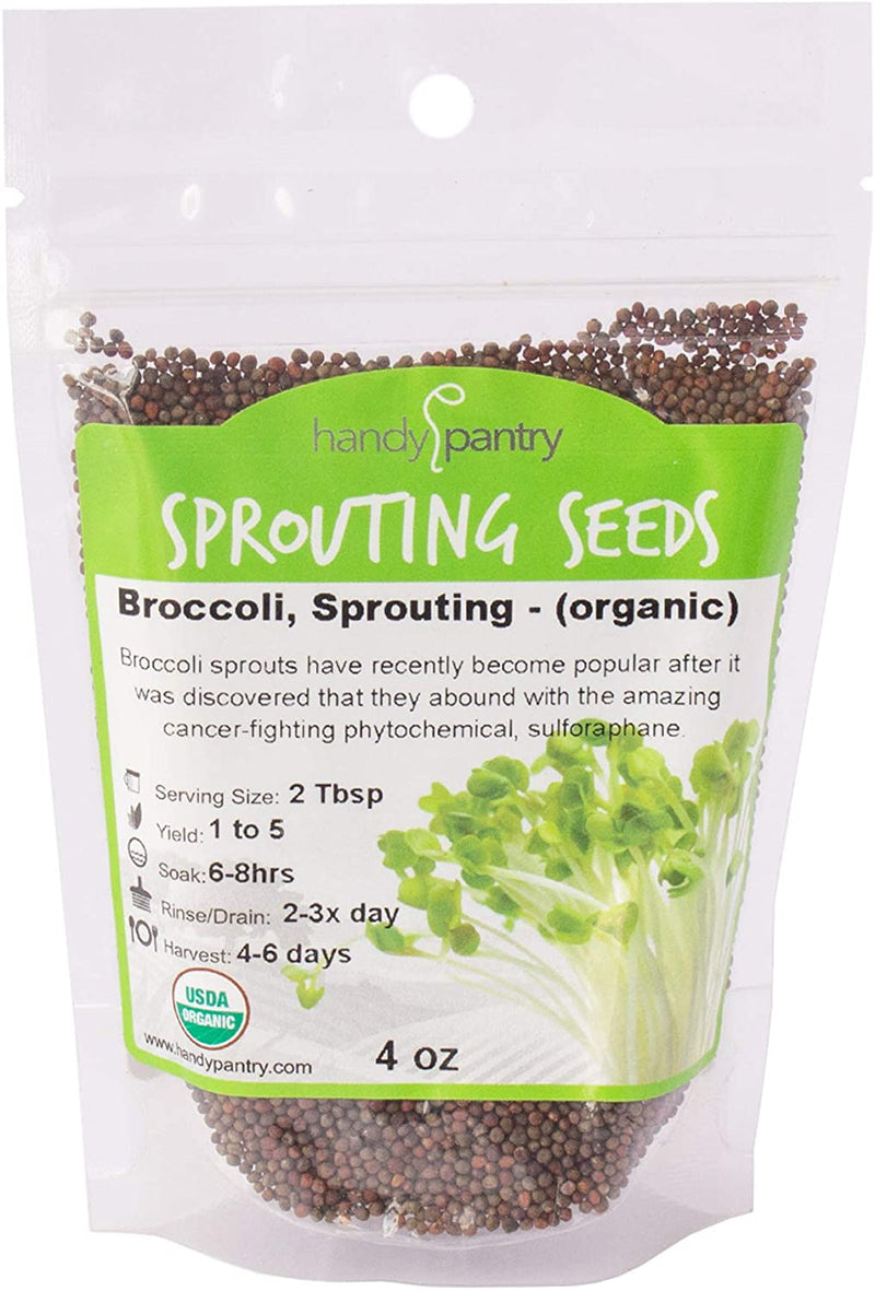 Broccoli Sprouting Kit