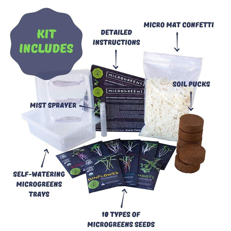 Combo Microgreens Kit - Contents