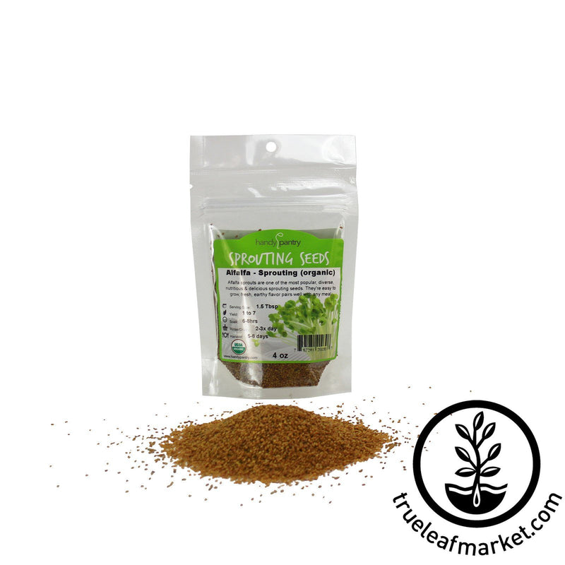 Alfalfa Sprouts Seeds - 4 Oz