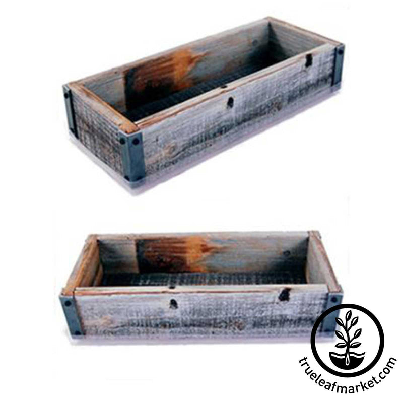 Barnwood Planter Box - Reclaimed and upcycled Barn wood