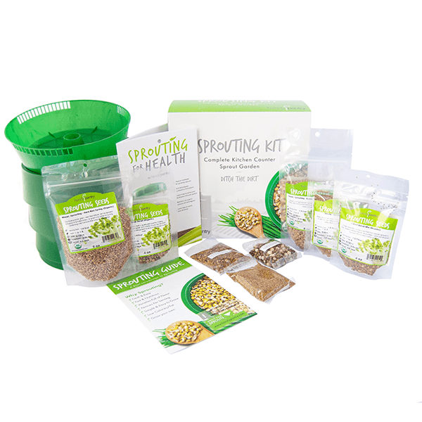 Basic Sprouting Kit - Tray Seed Sprouter Kit