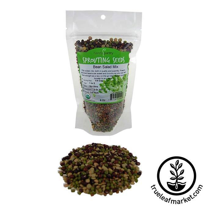 Bean Salad Sprouts Mix: Organic 8 oz