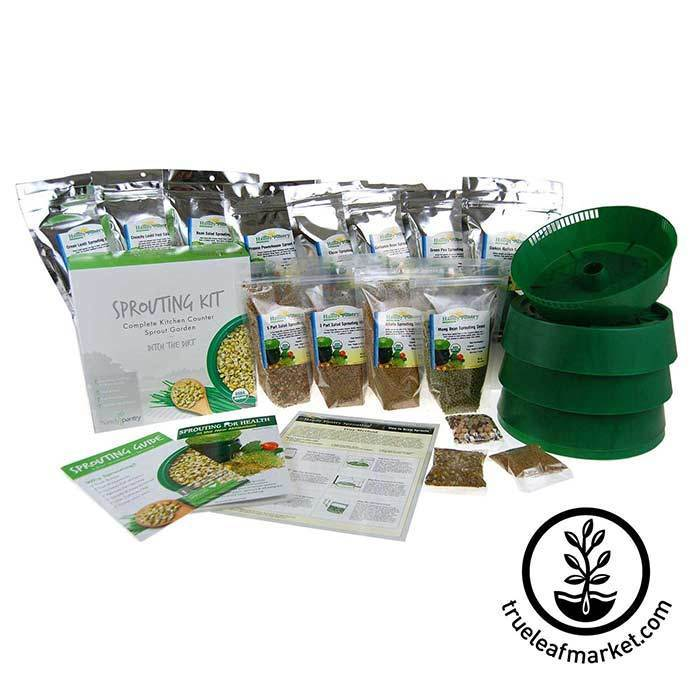 Deluxe Sprout Growing Kit - Contents