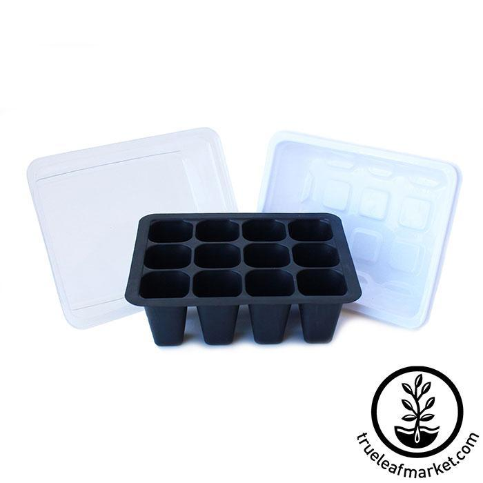 12 Cell Seed Starting Set - Tray, Insert, Dome