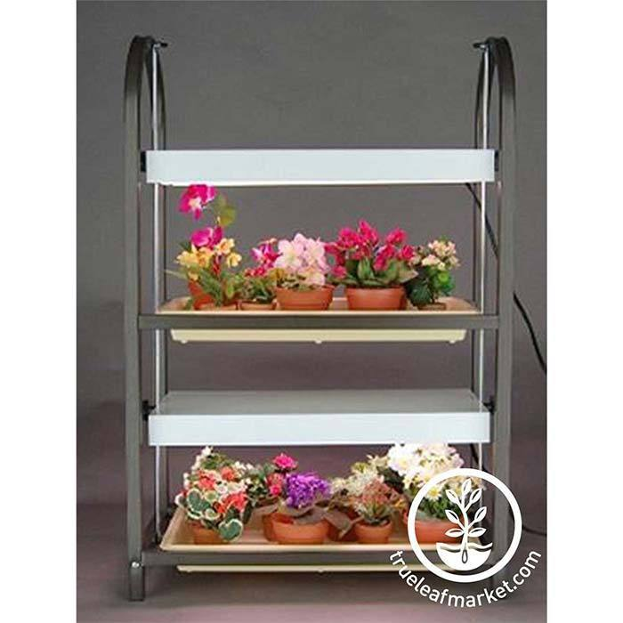 Two Tray Growing Stand for indoor Growing