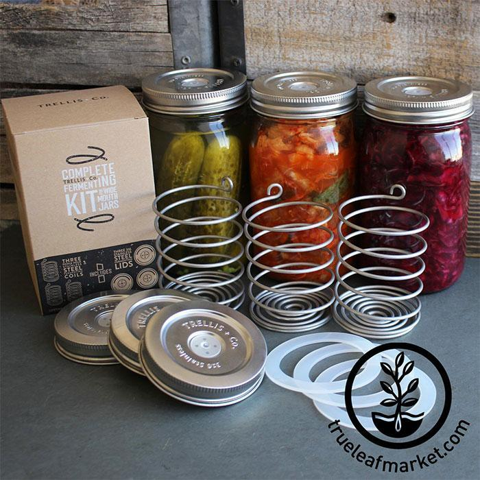 Stainless Steel Fermenting Kits home fermented vegetables