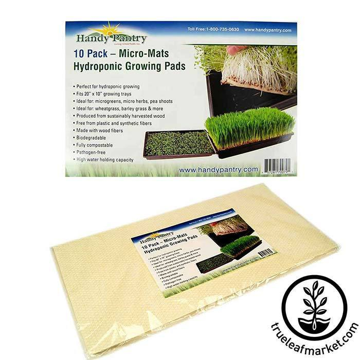 Micro-Mats Hydroponic Grow Pads 10 Pack