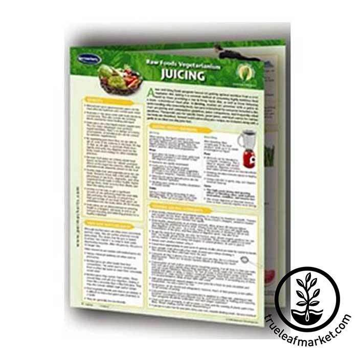 Permacharts: Raw Food Reference Card