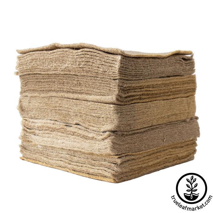 Jute Microgreens Grow Mats - 10x10 50 pack