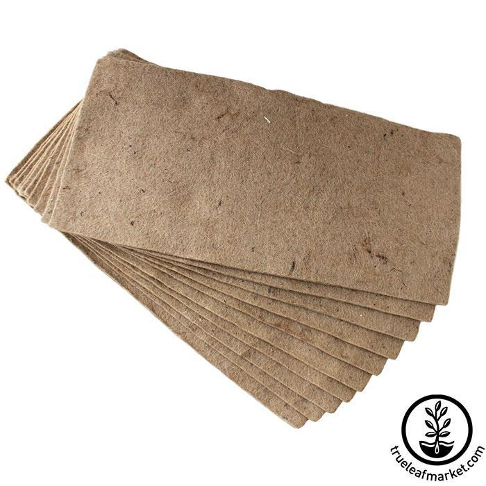 Jute Microgreens Grow Mats - 10x20 10 pack