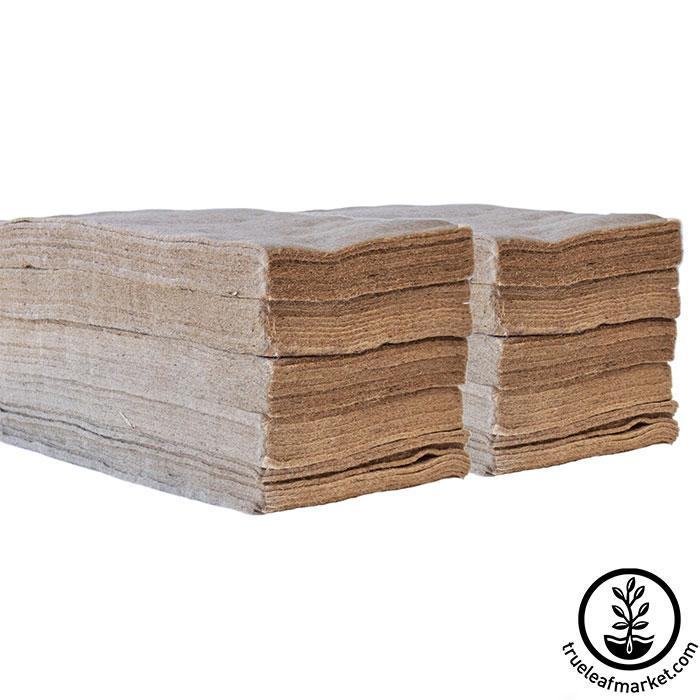 Jute Microgreens Grow Mats - 10x20 100 pack