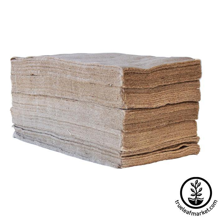 Jute Microgreens Grow Mats - 10x20 50 pack