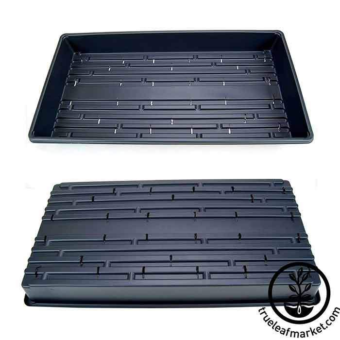 10 by 20 trays with drain holes 1020