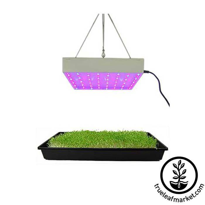 24 Watt LED Grow Light Panel Includes hanging chain and hook