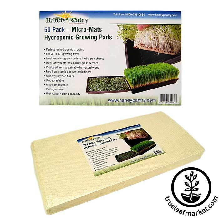 Micro-Mats Hydroponic Grow Pads 50 Pack