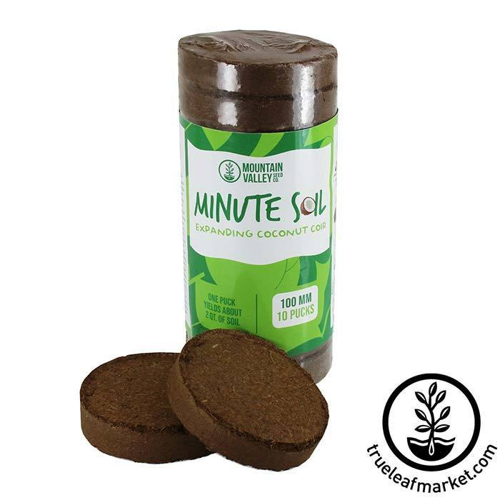 Minute Soil Pucks - 100x10mm