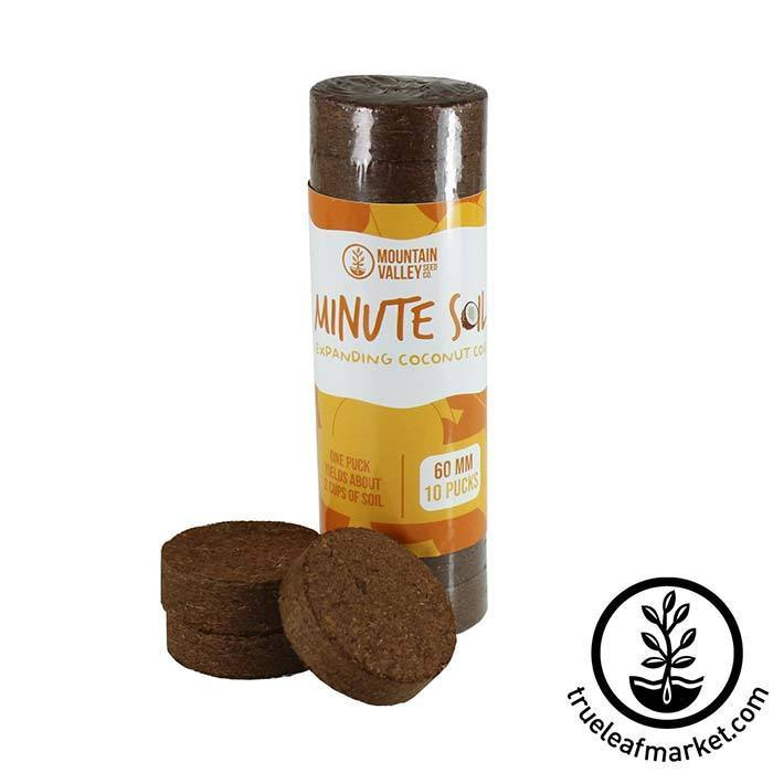 Minute Soil Pucks - 60x6mm