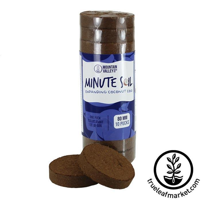Minute Soil Pucks - 80x8mm