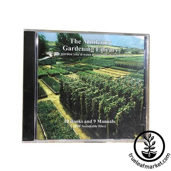 Mittleider Gardening Library on CD