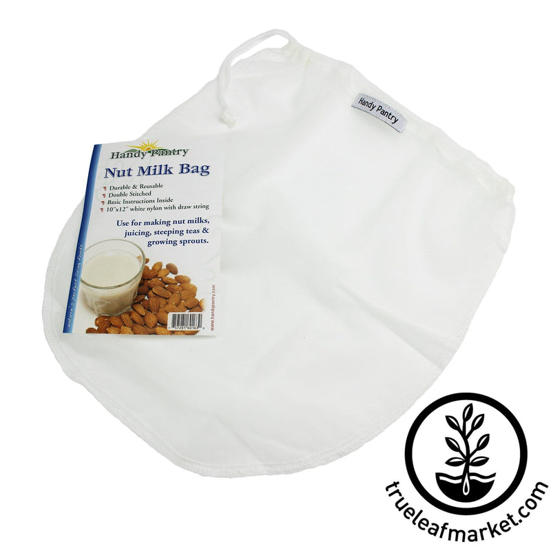 Vegan Nut Milk Bag - Packaging