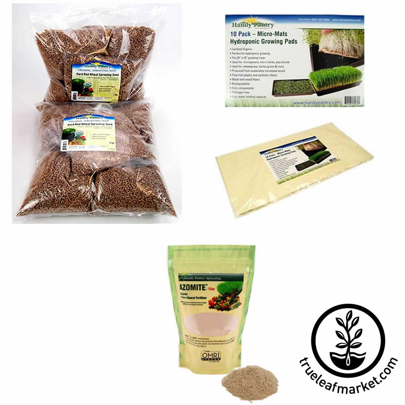 Hydroponic Wheatgrass Kit Refill