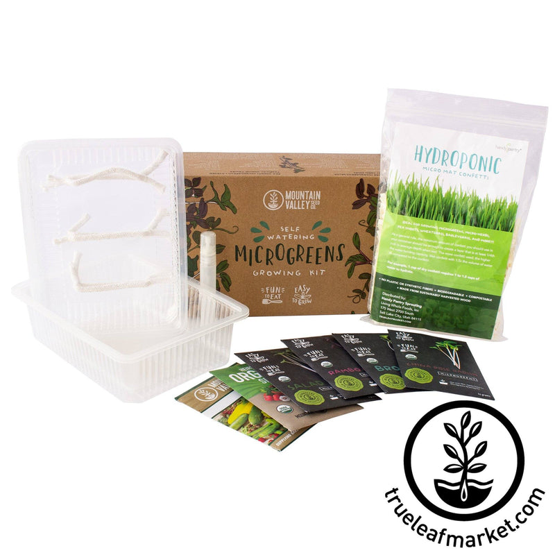 Hydroponic Self Watering Microgreens Kit