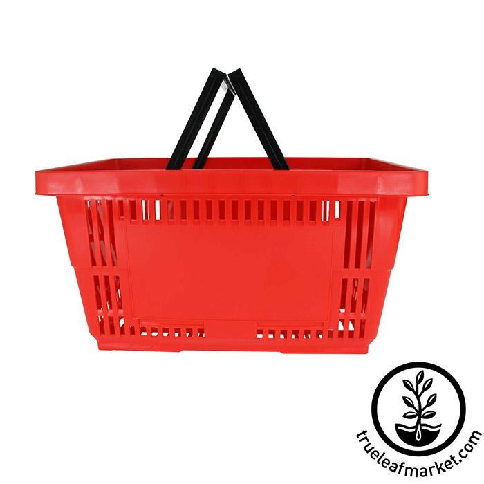 Red Shopping Basket - Plastic