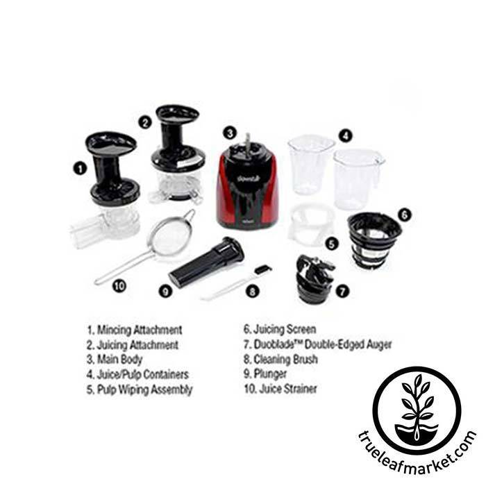 Tribest Vertical Juicer Parts