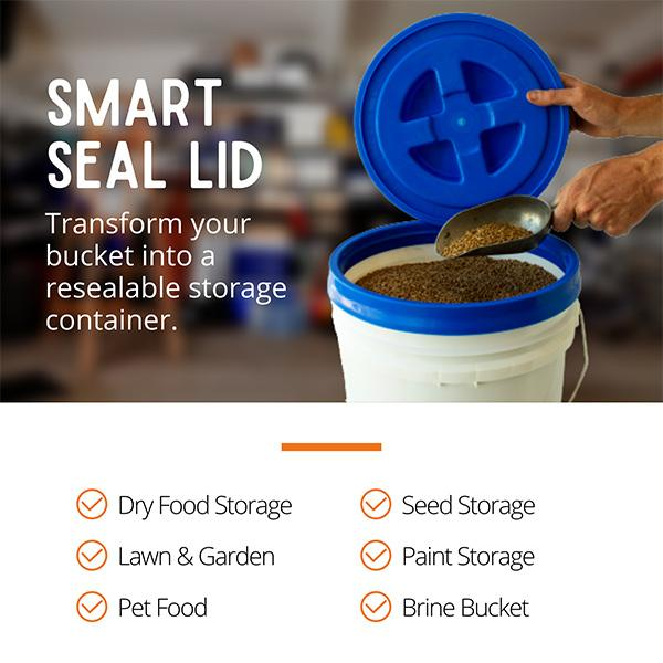Easy to Open / Close Smart Seal Lid