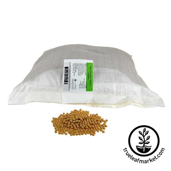 Soybeans: Yellow - Organic 50 lb
