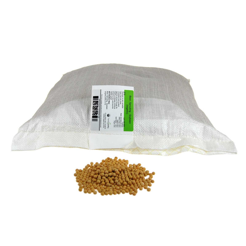 Yellow Soybeans (organic) - Bulk Grains & Foods