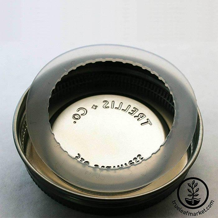 Stainless Steel Wide Mouth Jar Lids