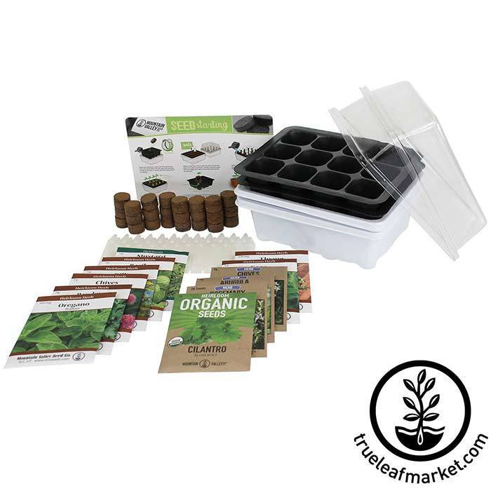 Seed Starter Kit - Culinary Herb - Deluxe